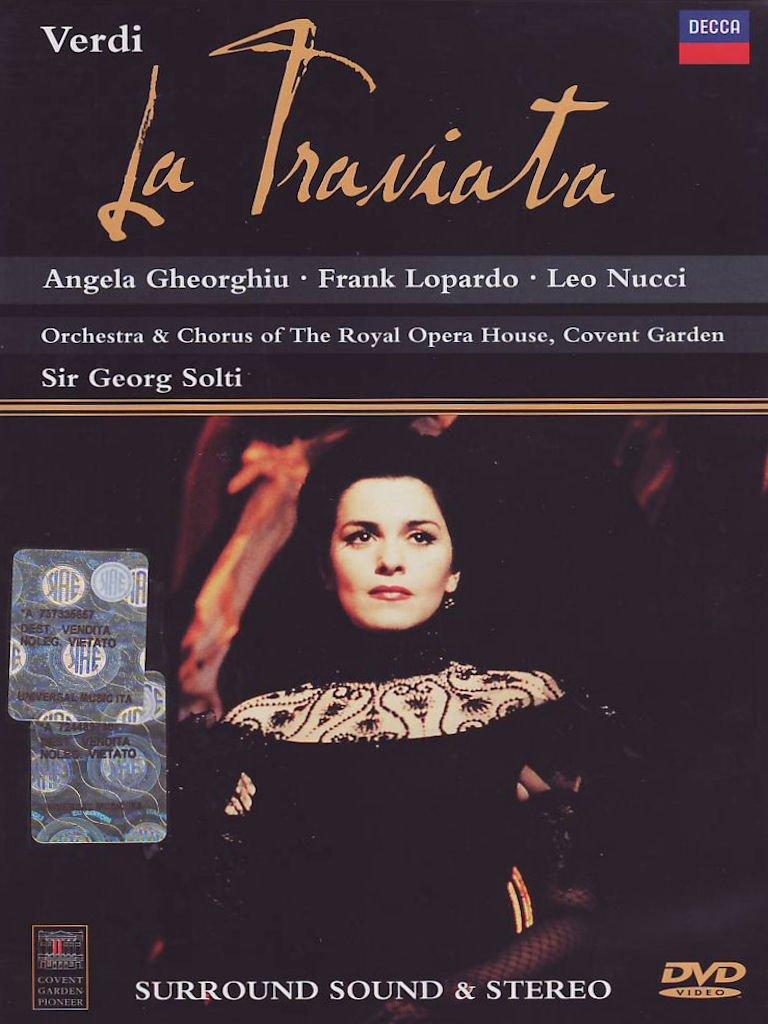 Resultado de imagem para traviata + solti
