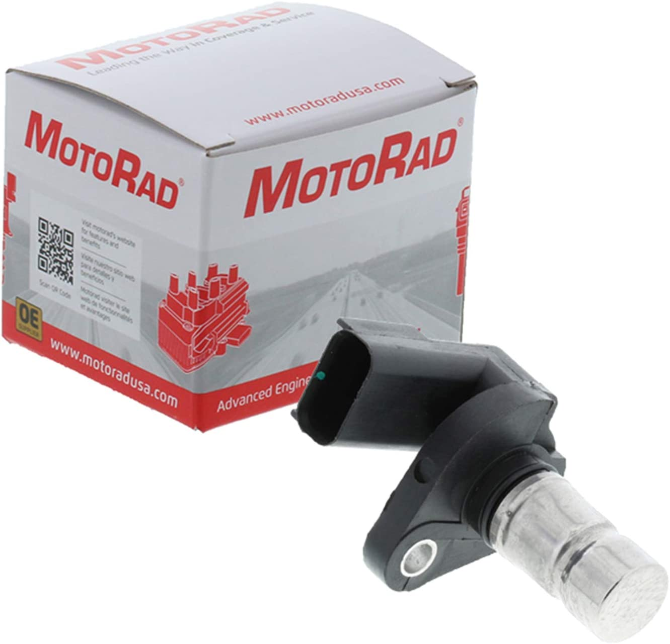 Eagle Plymouth Applications MotoRad 1KR126 Crankshaft Sensor Fits Select Chrysler Dodge