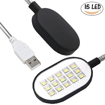 Usb Lampe Mit 15 Led Flexiblen, Sehr Hellen Glühbirnen/LED Lampen Für Laptop