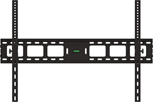 Impact Mounts Extra Large LED Flat Tilt TV Wall Mount Bracket 55 57 60 62 65 70 75 80 82 83 85 90 100 110 120 Solid Piece Wall Plate and Verticals. Lockable with A Padlock for Extra Security