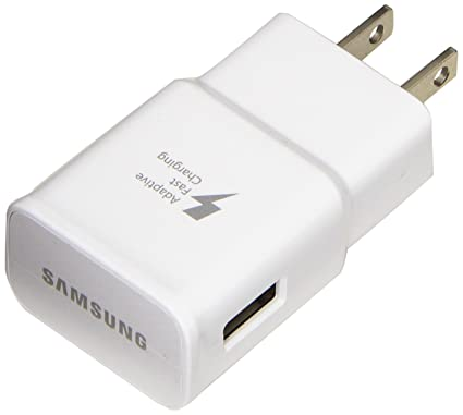 Samsung Travel Charger for Galaxy Alpha, Note 4, Note 4 Edge, S6, S6 Edge - Non-Retail Packaging - White