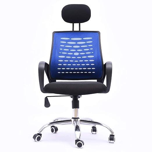 QJGhy Silla ergonómica de Oficina con Soporte Lumbar y ...