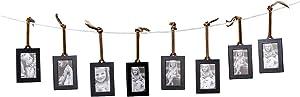 Klikel Hanging Picture Frame Ornaments, Set of 8