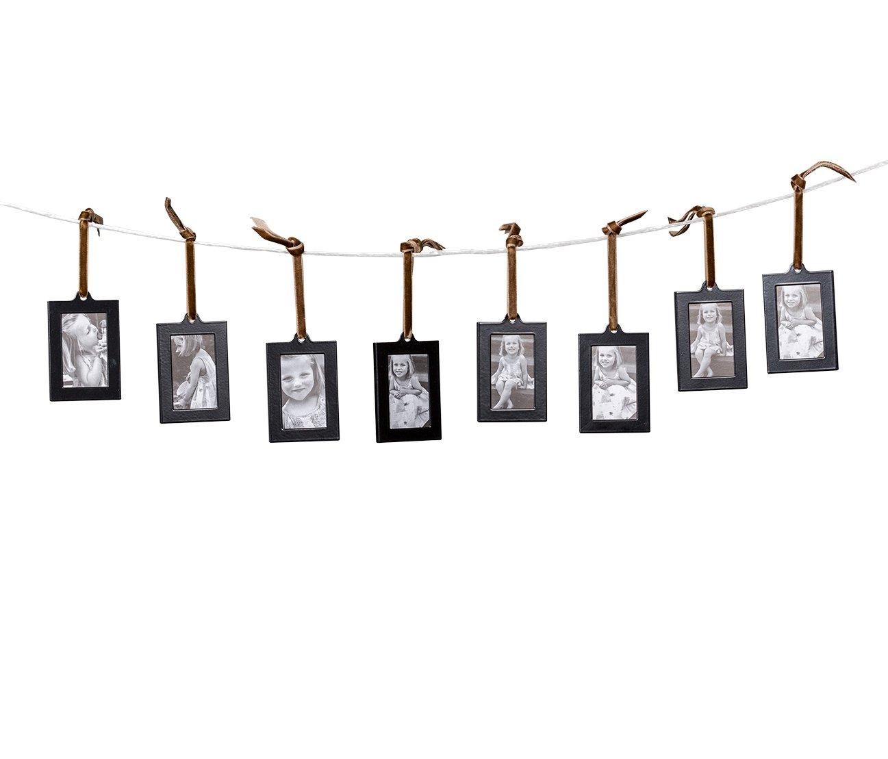 Klikel Hanging Picture Frame Ornaments, Set of 8 by Klikel