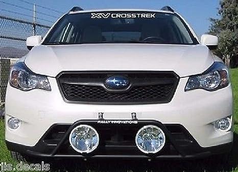 Amazon.com: Subaru XV Crosstrek parabrisas Decal (Blanco ...