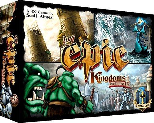 Tiny Epic Kingdoms Strategy Board Game: A Small Box 4X Fanta