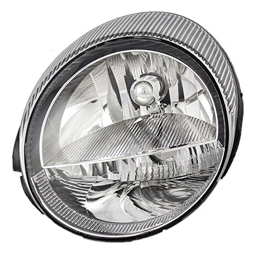 (Drivers Headlight Headlamp Replacement for Ford 1W6Z13008AD AutoAndArt)