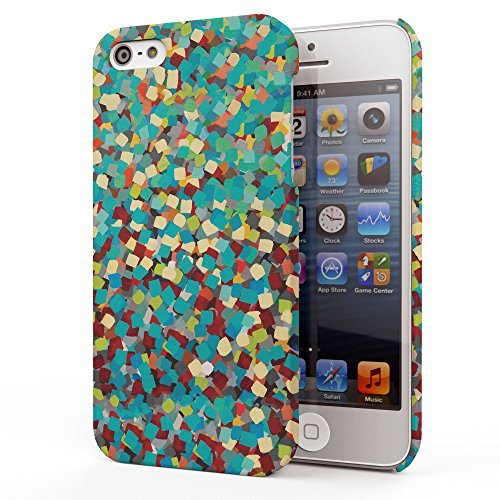 Koveru Back Cover Case for Apple iPhone 5S - Boxes Pattern