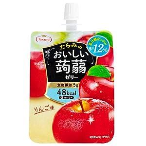 Tarami delicious konjac jelly apple taste 150gX6 pieces