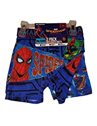 Marvel Comics Spider-Man Homecoming 2 Pack Boxer Briefs