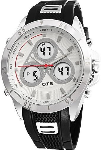 Reloj Cuarzo ACME para con Digital Y Plata ACME-123: Amazon.es: Relojes