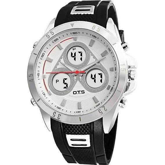Reloj cuarzo ACME Para Con Digital Y Plata ACME-123
