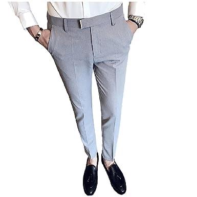 Tootlessly-Men - Pantalón de Traje - para Hombre: Amazon.es ...