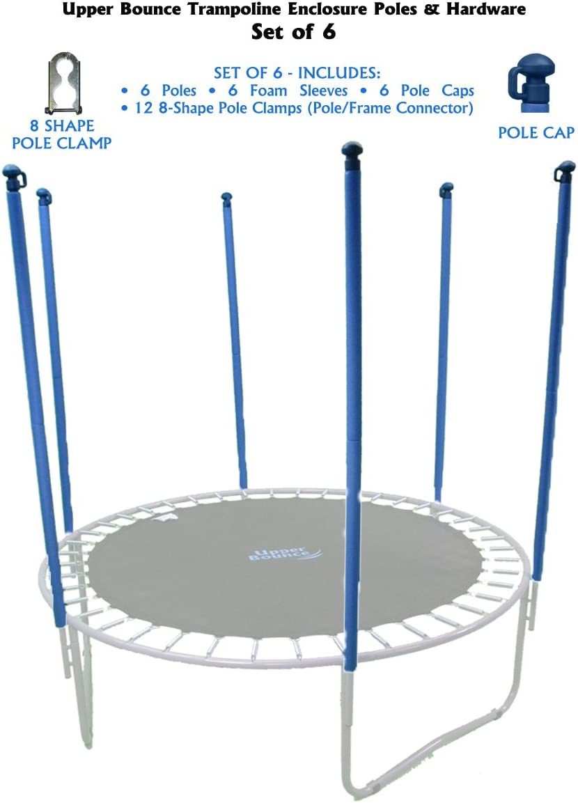 Trampoline Connector Pole Frame Replacement Parts 12-14ft square frame
