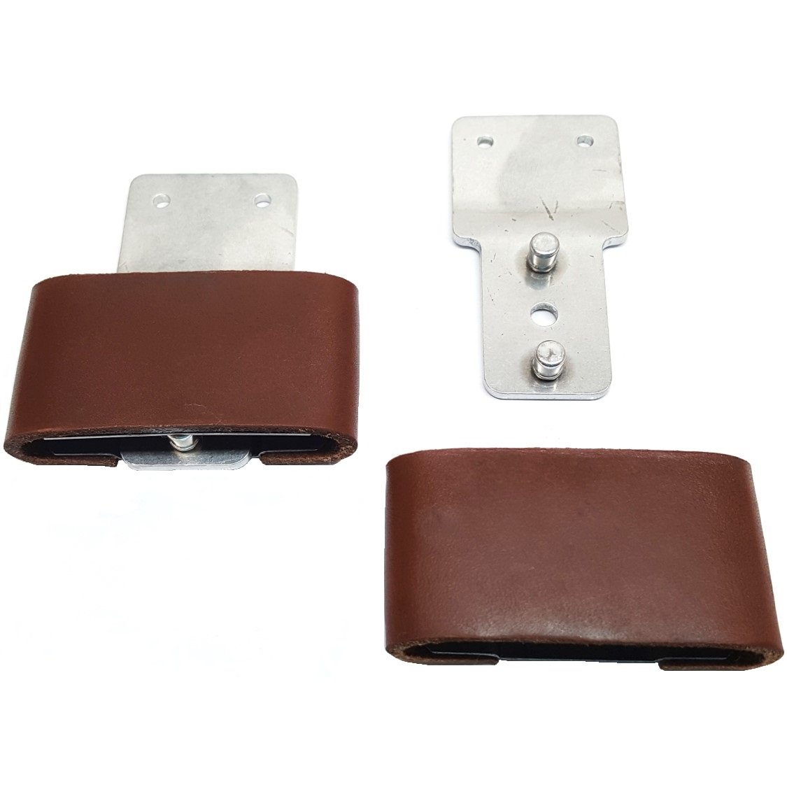 5.1cm - 1.3cm Leather Wrapped Genuine Blevins Buckles Set Vertical Post Western Saddle   B071X7CNKF