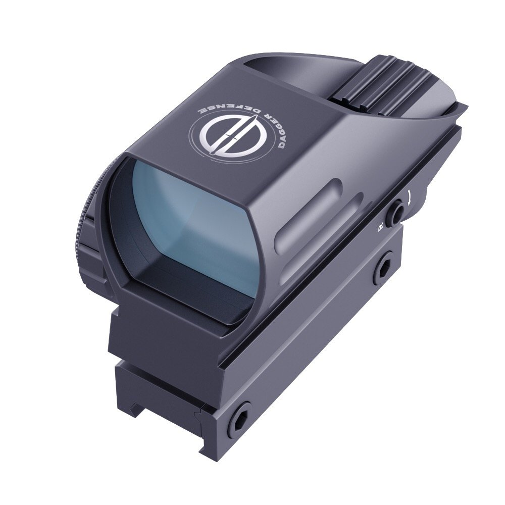 Dagger Defense DDHB Red Dot Reflex Sight, Reflex Sight Optic and Substitute for Holographic red dot Sights by DD DAGGER DEFENSE
