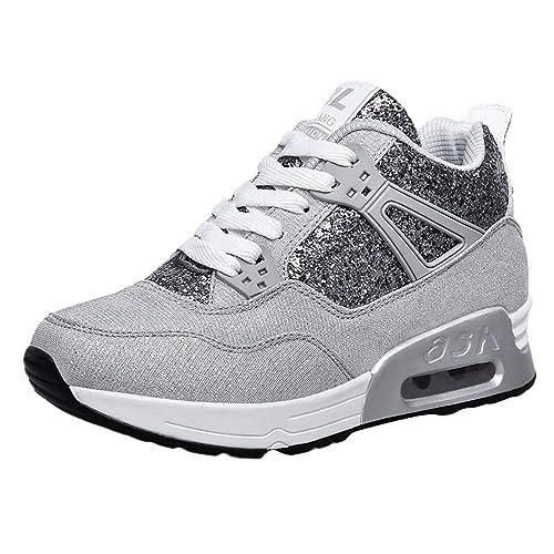 13c7c948de624 Zapatos Logobeing Comodos Aumentar Mujer Tacon Plataforma Para 6xdxqA8w
