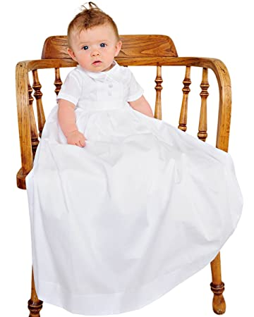 Amazon.com: Caleb Christening or Baptism Gowns for Boys, Made in USA ...