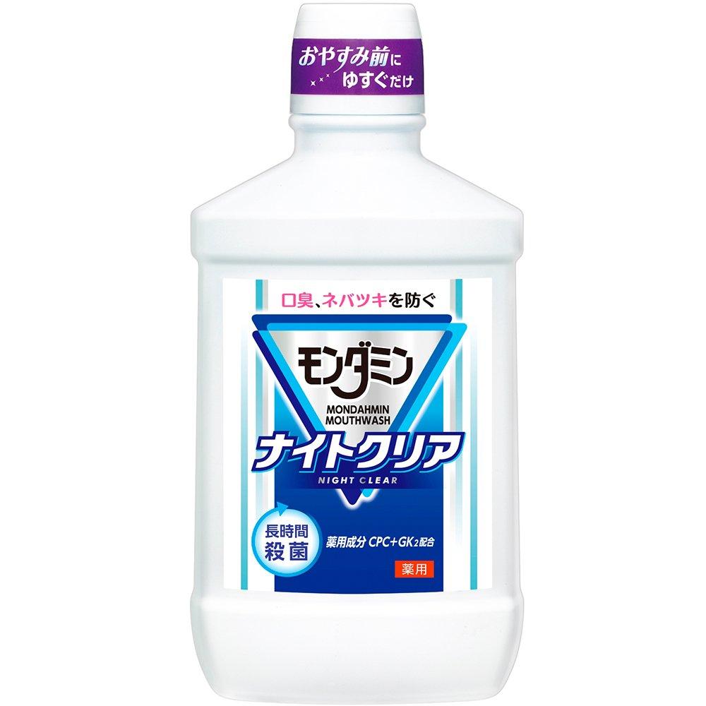 アース製薬 モンダミン ナイトクリア 1000mL