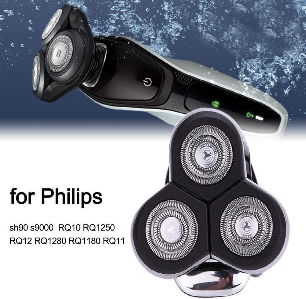 Knowled Cabezales de Repuesto para Philips sh90 s9000 RQ10 RQ1250 ...
