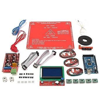 Ramps 1.4 12864 LCD MK2B Kit de controlador de cama de calor para ...