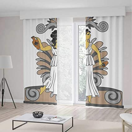 Amazon Com Toga Party Decorations Curtains Greek Woman With