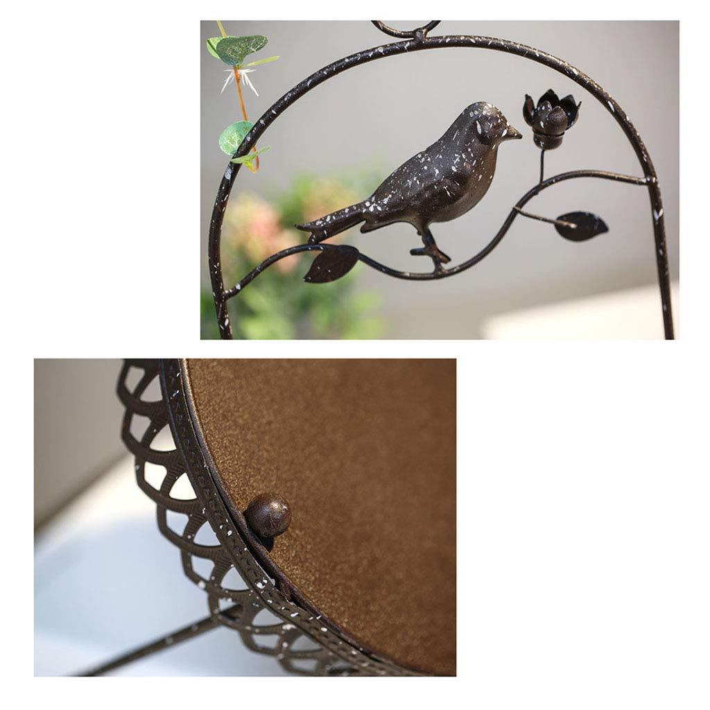 Colgar cesta de flores, jaula de pájaros Decoración Soporte de ...