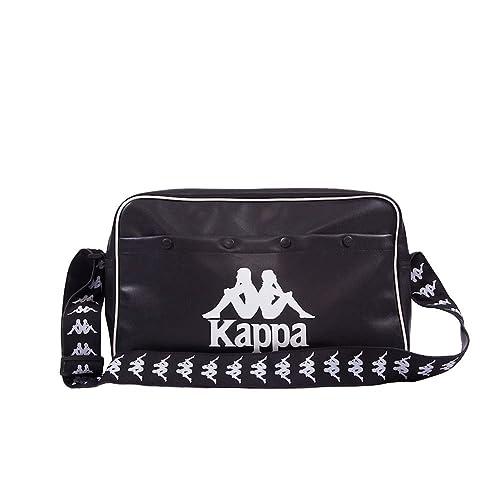 bf1bc6feab Kappa Mens Authentic Popmusic Retro 90s Shoulder Bag Black White One Size