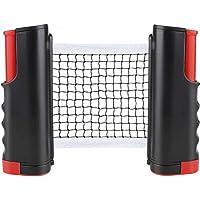CHUER Red de Tenis de Mesa, Red Ajustable de Ping Pong Repuesto Portátil Retráctil Table Tennis Net - Ping Pong Net para…