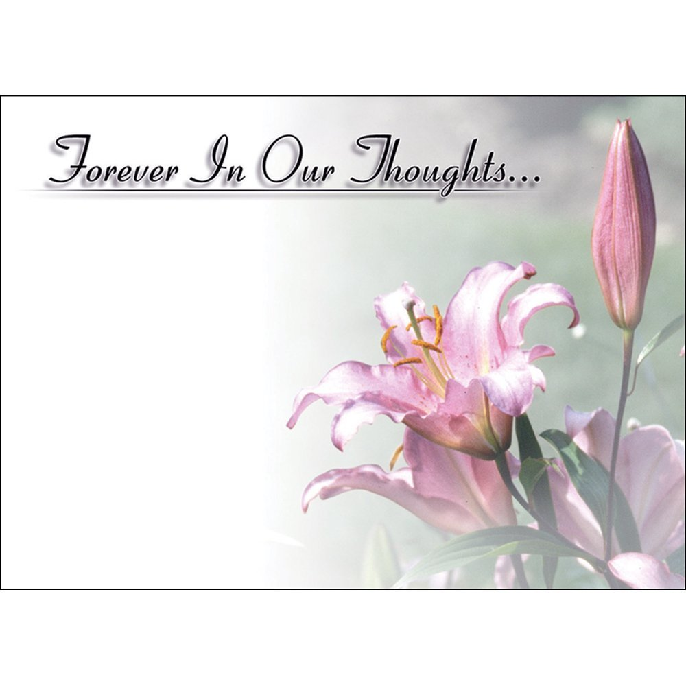 Large Funeral In Loving Memory Floristry Message Cards Flowers And