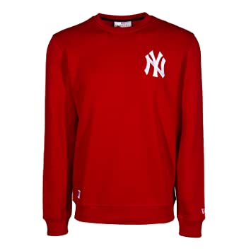 size 40 ab352 56bfe New Era Men's MLB Crew Neck New York Yankees Sca, Cotton ...