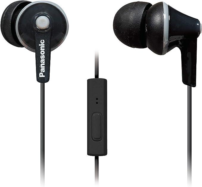 Panasonic ErgoFit Earbud Headphones with Microphone