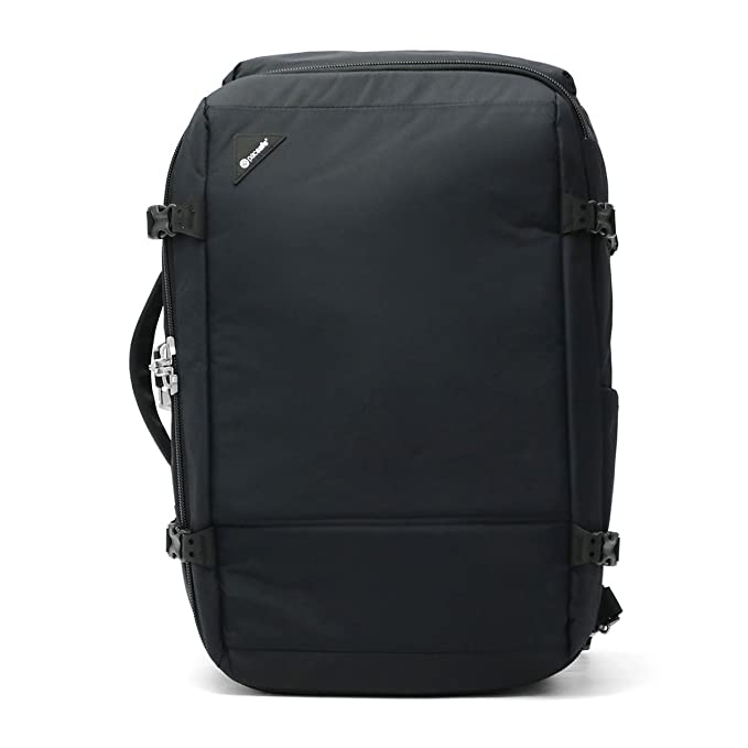 0242f3c27 Pacsafe Vibe 40 Anti-Theft 40L Weekender Backpack, Black: Amazon.ca ...