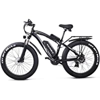GUNAI Bicicletas Electricas Neumaticos Bicicleta 26 Pulgada 1000w 48V 17AH Bateria Litio Frenos de Disco Bicicleta