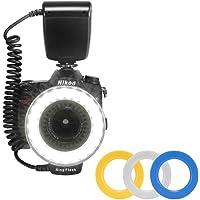 Lightdow RF-550D Macro 48 Pieces LED Ring Flash Light for Canon Nikon Pentax Olympus Panasonic DSLR