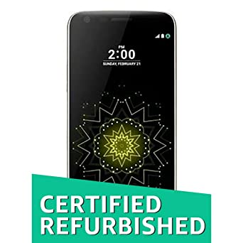 (Certified REFURBISHED) LG G5 LG-H860 (Titanium, 32GB) Smartphones at amazon