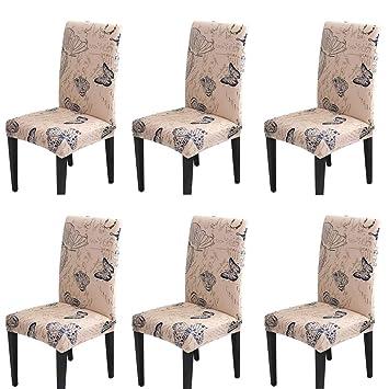 Handfly para sillas Pack de 1/4/6 Fundas sillas Comedor ...