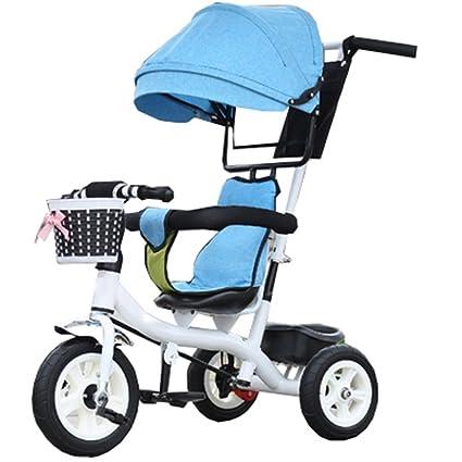 Bicicleta para niños Niño de interior al aire libre Pequeño triciclo Bicicleta Niño Bicicleta de la