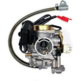 Performance Adjustable CARBURETOR for 50cc/80cc GY6 Engines 20mm
