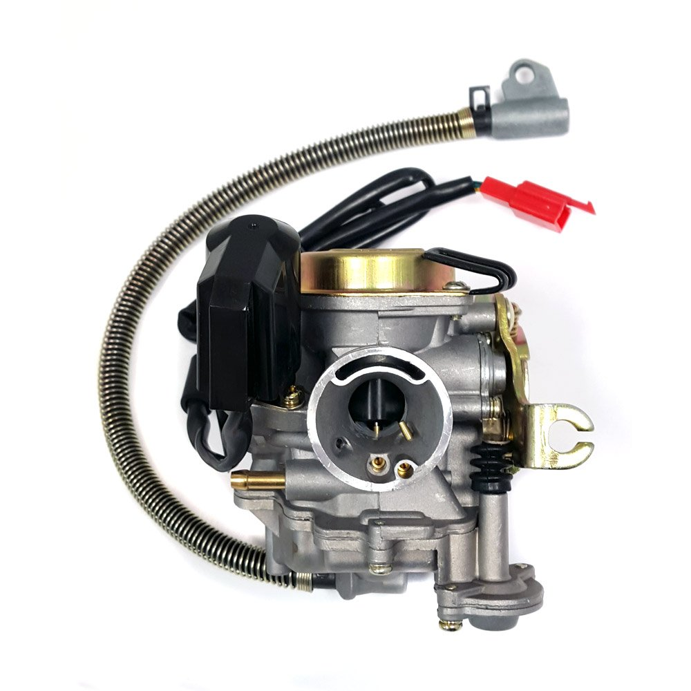 Amazon.com: Performance Adjustable CARBURETOR with electric choke for 50cc  80cc GY6 Engines: Automotive