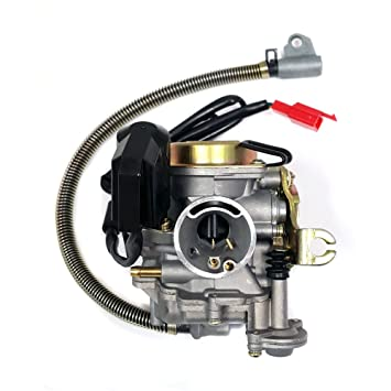 MMG Performance Adjustable Carburetor with electric choke for 50cc 80cc GY6  Engines