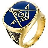 Details about  /Masonic Mason Black Enamel Compasses Clear Austrian Crystal Men/'s Ring Size 13
