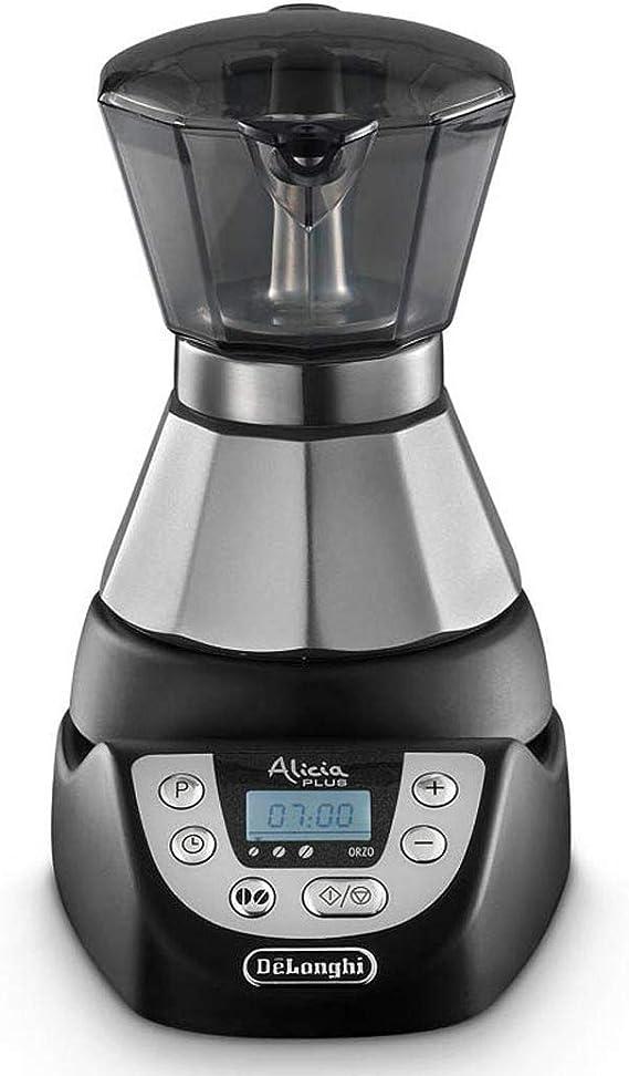 DeLonghi EMKP 21.B Cafetera moka eléctrica, 450 W, cronómetro, 2 ...