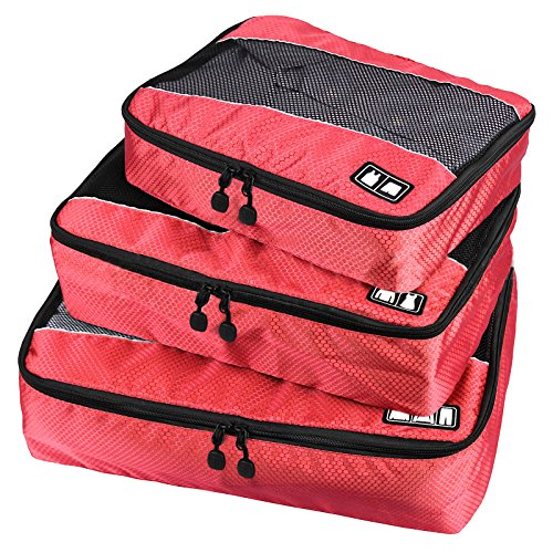 Travel Packing Organizers - Clothes Cubes Shoe Bags Laundry