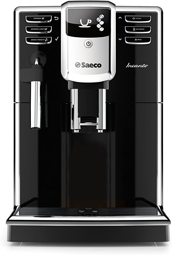 Saeco HD8911/48 Incanto Classic Milk Frother Super Automatic Espresso Machine with AquaClean filter