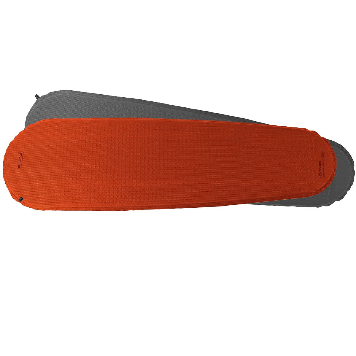 Multimat- Adventure Mat, Carrot/Charcoal