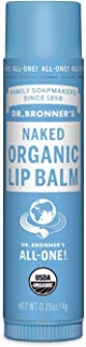 product image for Dr. Bronner's Magic Soaps Organic Naked Unflavored Lip Balm, 0.15 Ounce