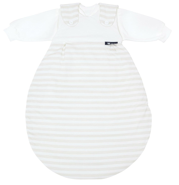 Alvi 423601176 Baby Mäxchen, 3 - teilig, Blockstreifen beige