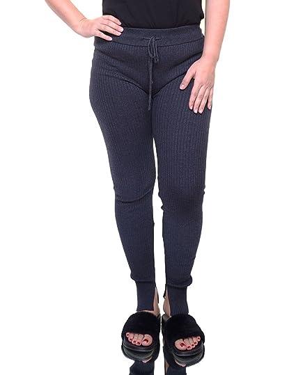 acea7e4d033 RACHEL Rachel Roy Womens Ribbed Drawstring Leggings Gray XS at Amazon  Women s Clothing store