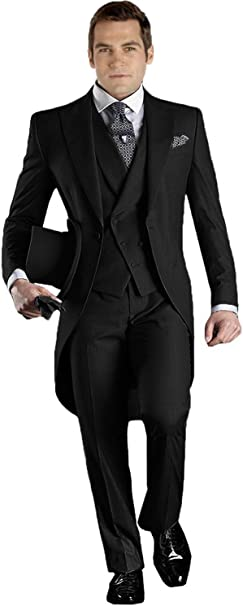 Amazon.com: DGMJ XZ019 - Trajes de esmoquin para hombre ...